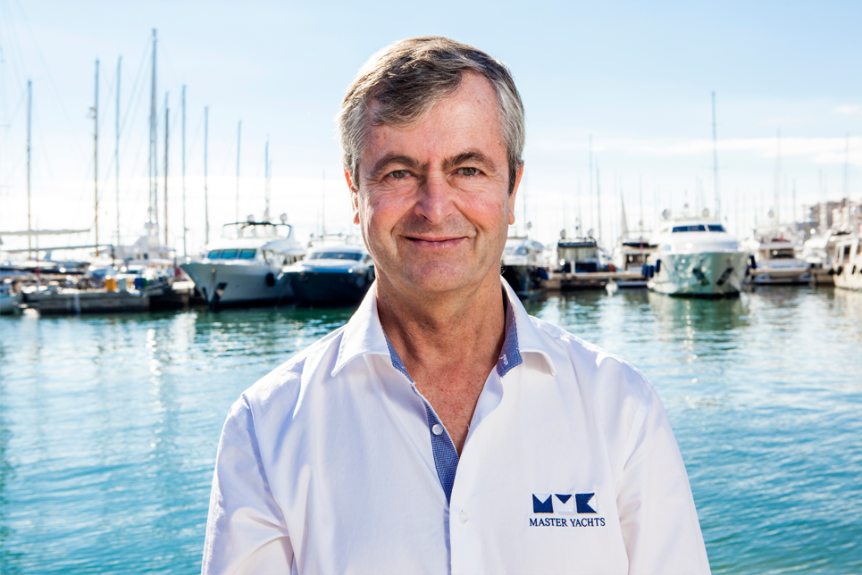 Rob Van Wieringen joins Master Yachts as new Yacht Manager